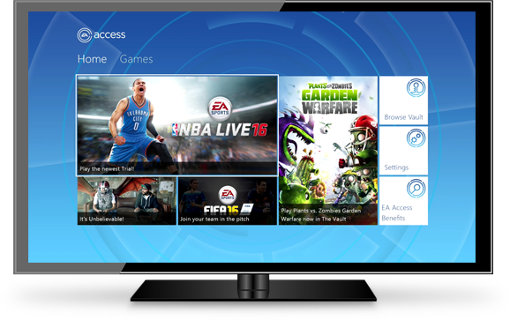 how to download ea access xbox one
