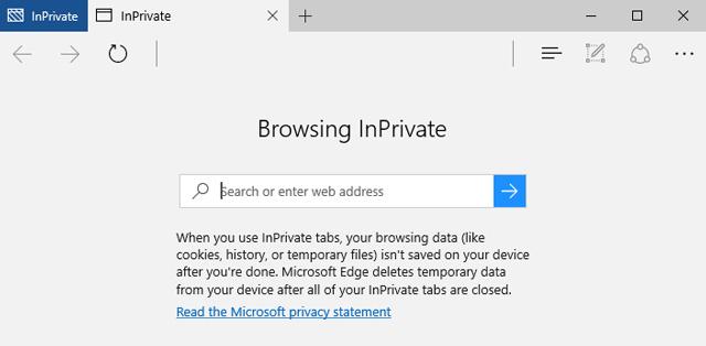 Private Microsoft Edge Browser