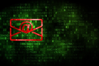 Email hacking concept image