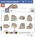 Stickers in Facebook Chat