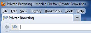 Private Browsing Firefox