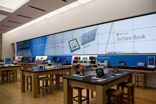 Microsoft Store in New York (inside)