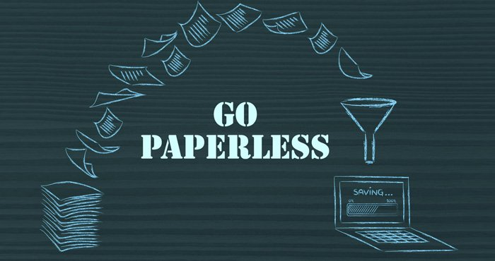 Best way to go paperless at home
