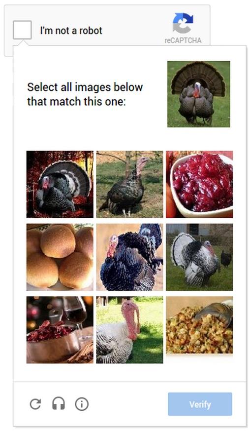 Google's No CAPTCHA reCAPTCHA