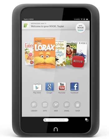 Google Play for Nook HD and HD+