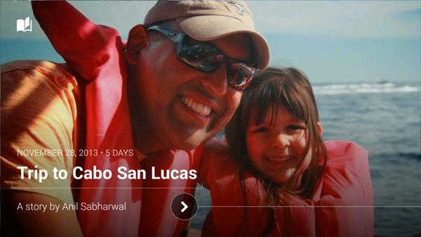 Google+ Stories sample