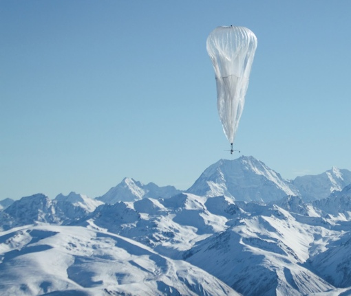 Google Project Loon's internet-by-balloon