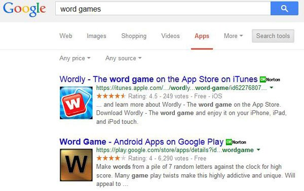 Google Search - Apps