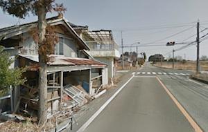 Google Street View Fukushima Province