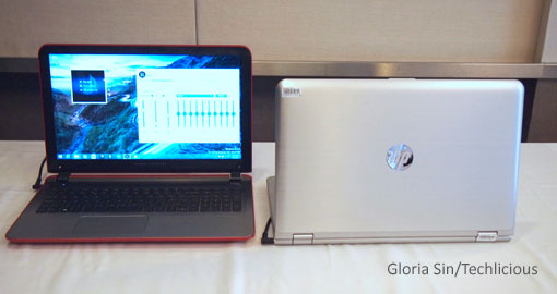 HP Envy x360 convertible laptops