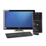 "HP Pavilion p6644y Desktop with 20"" LCD Monitor"