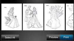 Disney Print App