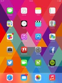 iOS 7 on an iPad