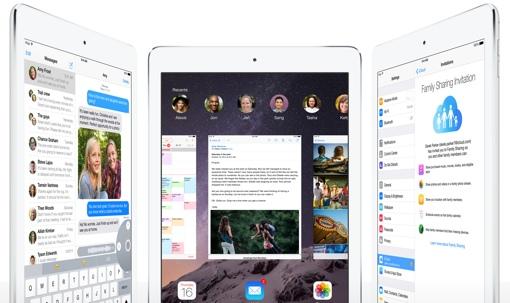 iPad Air 2 in Silver