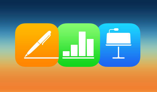 Apple Upgrades iWork Apps for iOS, OS X and iCloud.com