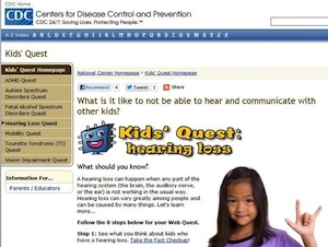CDC's Kids' Quest