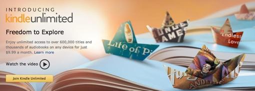 Kindle Unlimited leaked banner