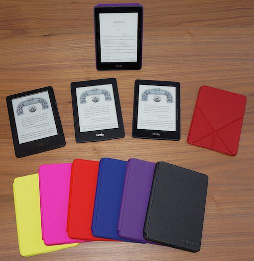 Kindle Voyage Line-up