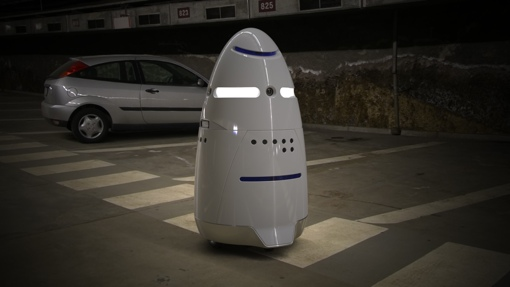 Knightscope K5 Robotic Security Guard