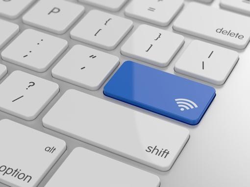 Laptop Wi-Fi button