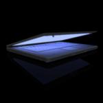 laptop at night