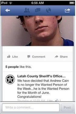 Latah County Sheriff's Office post