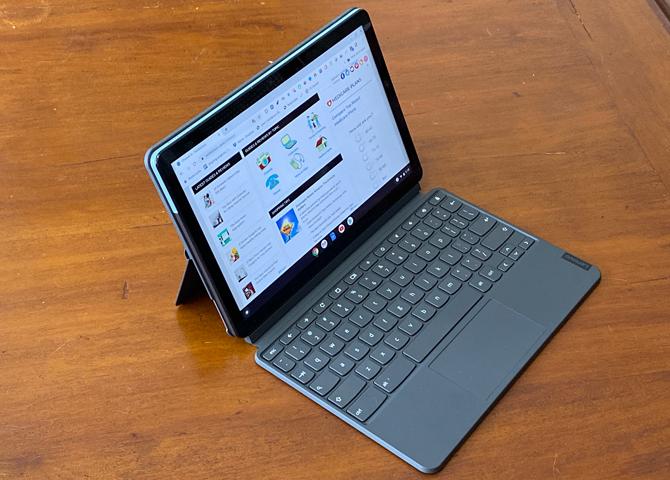 A versatile Chromebook: Lenovo Chromebook Duet