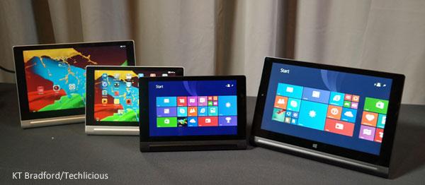 Lenovo tablet line 2014