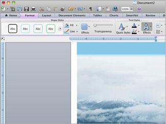 Microsoft Office Mac 2011 Ribbon