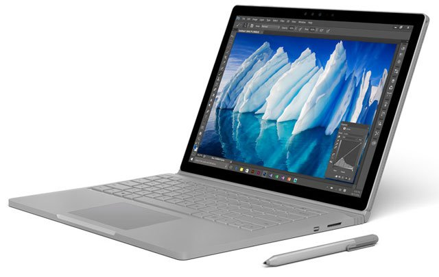 Microsoft updates ts Surface Book