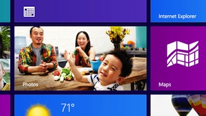 Microsoft Windows 8 Photos tile