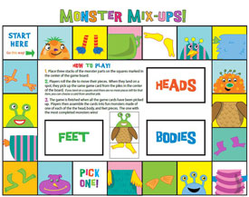 Monster Mix-Ups boardgame
