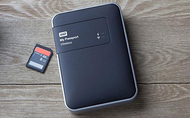 Western Digital My Passport Wireless Portable Drive