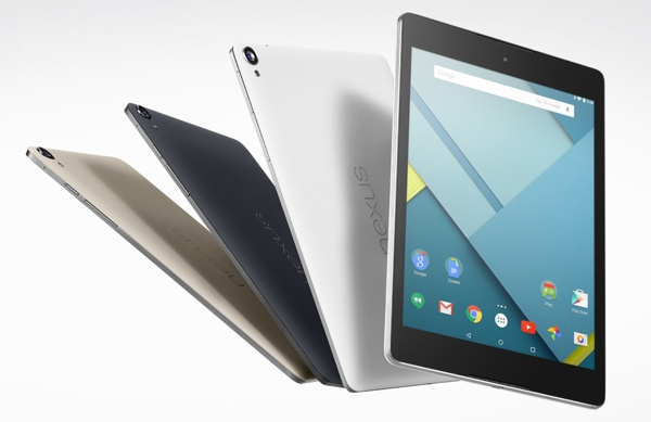 Nexus 9 tablets