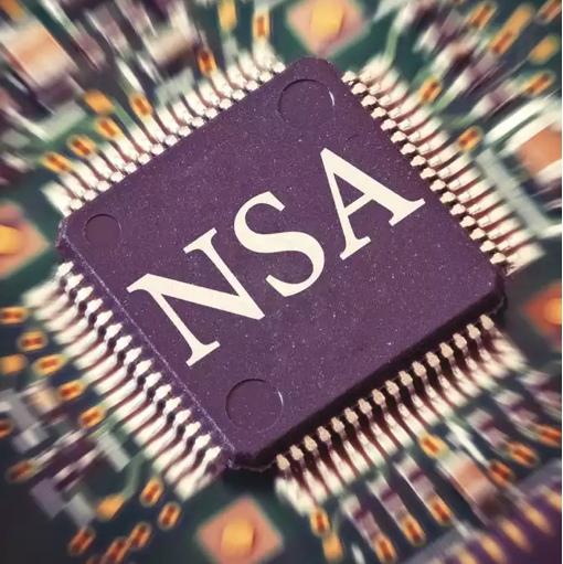 NSA microchip