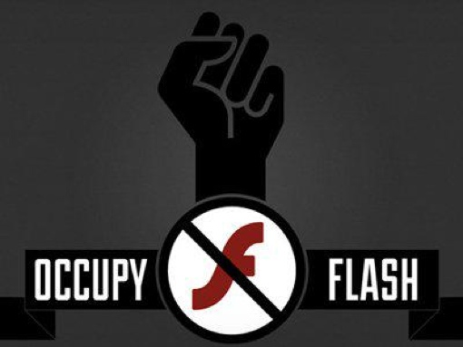 Occupy Flash banner