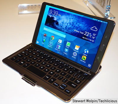 Bluetooth keyboard case for the Galaxy Tab S 8.4""