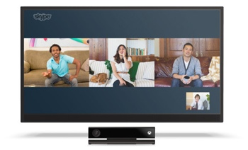 Skype Xbox One video chat