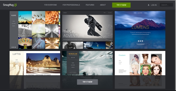 Best sites for storing photos online techlicious for Smugmug templates