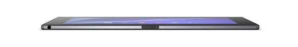 Sony Xperia Z2 tablet side view