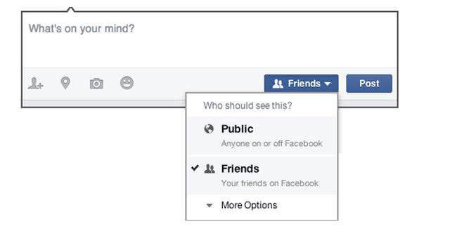 Facebook Privacy: Check Your Status Update Settings