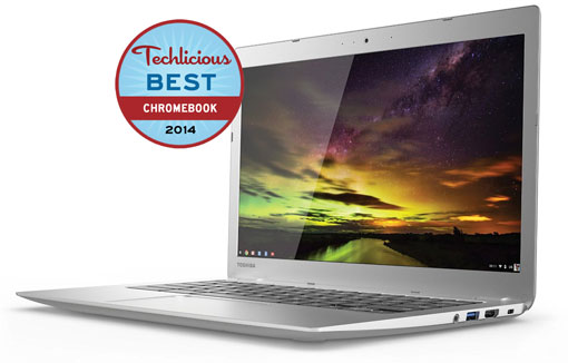 Toshiba Chromebook 2 - Techlicious Best Chromebook 2014