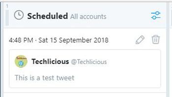 Tweet with no image