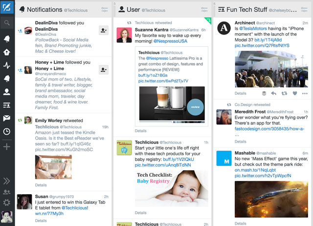 Tweetdeck Desktop News Aggregator