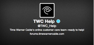 Time Warner Cable Twitter customer service