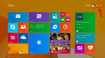 Windows 8.1 Update Start Screen