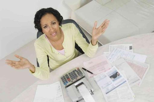 Woman upset over high bills