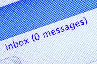 zero inbox Shutterstock