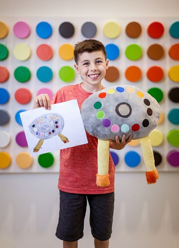 Crayola Imaginables brings your child's artwork to life
