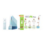 Nintendo Wii,  Fit Plus and Balance Board